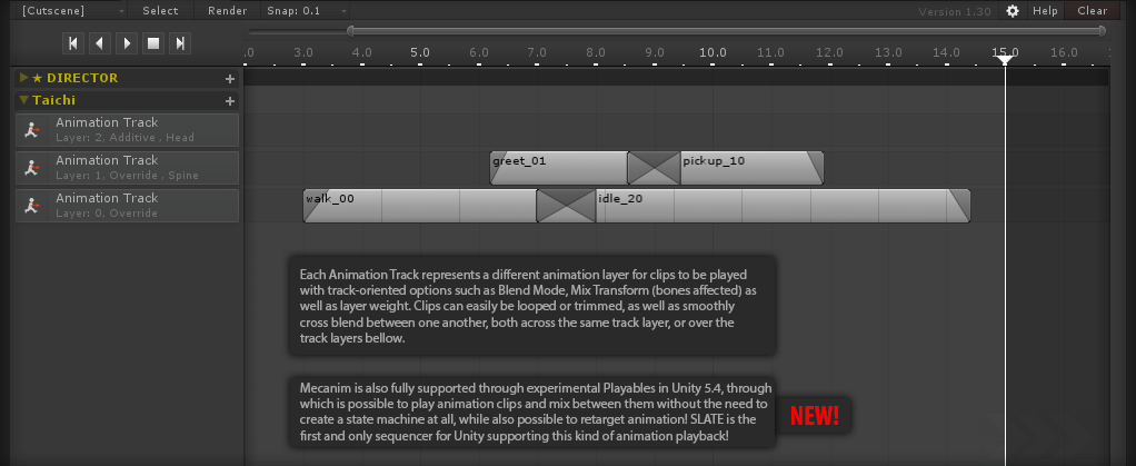 SLATE | Realtime Cinematic Sequencer for Unity